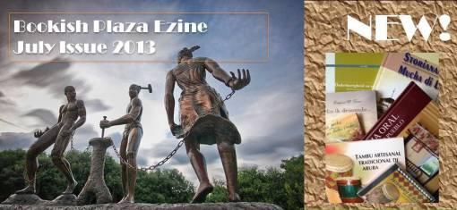 Bekendmaking BookIsh Plaza Ezine JULY 2013 nieuw